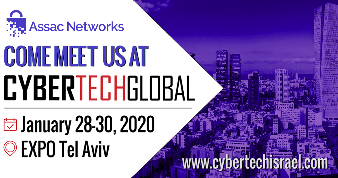 Assac Networks will participate in CYBERTECH TEL-AVIV 2020